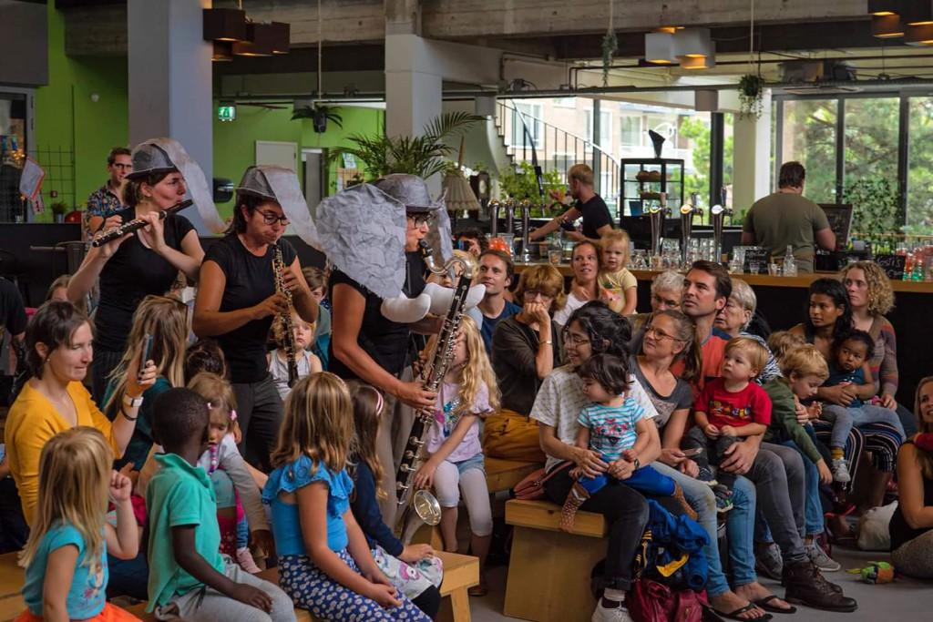 Junior Grachtenfestival zondag 11 augustus Foto: Robert Verhoeve